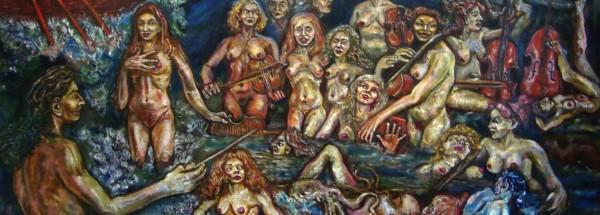 """""""אורקסטרה"""" מאת האמן הבריטי ממוצא רוסי פיליפ פירסוב, 2012. צילום: Dmitrismirnov"""