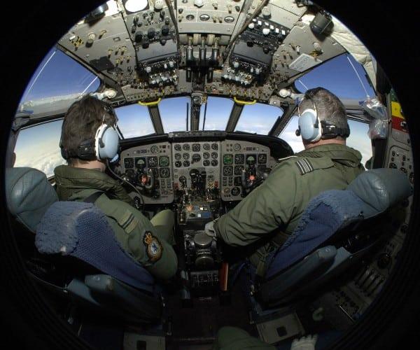 אימון של טייסים בחיל האוויר הבריטי