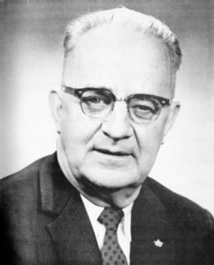"""יוג'ין """"בול"""" קונור, מפקד המשמר האזרחי של העיר בירמינגהם ב-1960"""