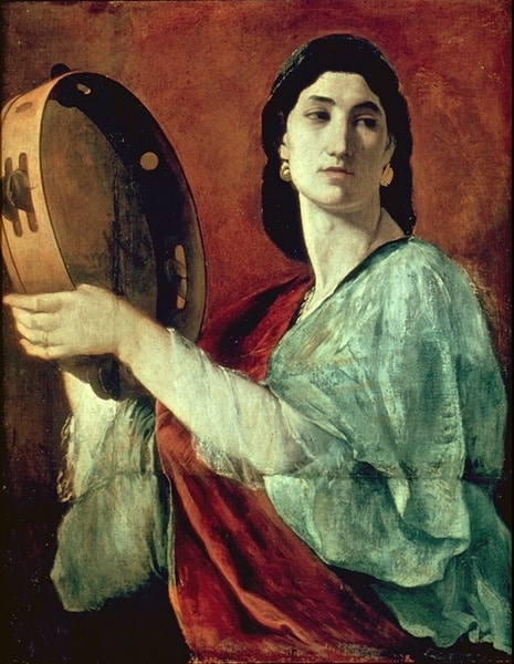 מרים הנביאה, מאת אנסלם פוירבך, 1862