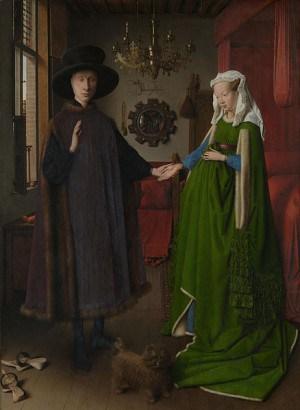 נישואי הזוג ארנולפיני, מאת יאן ואן אייק, 1434