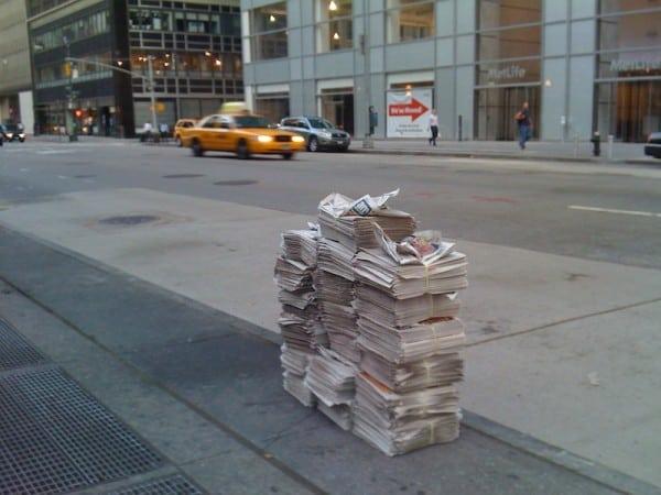 דוכן העיתונים האחרון בשדרה השישית בניו יורק, 2010