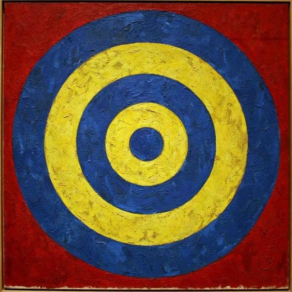 """""""מטרה"""" מאת ג'ונס מ-1958. צילום: קליפ, פליקר"""