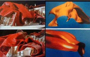 ניסויים של פרנק גרי בטכניקות סריקה