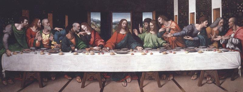 הסעודה האחרונה, מאת ג׳ובני פיאטרו ריזולי, 1520