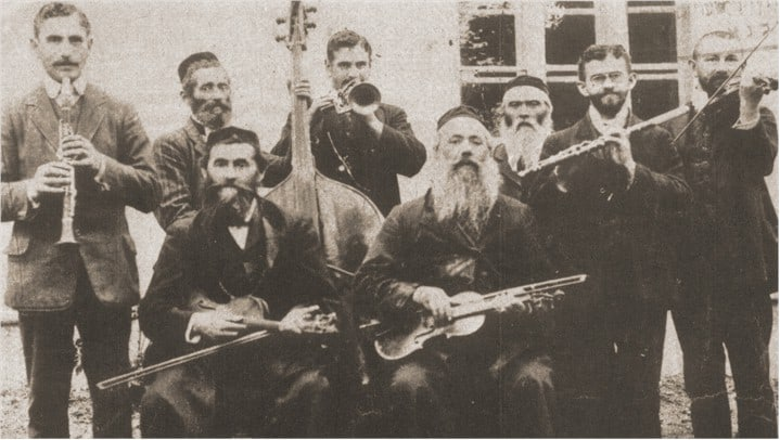משפחת פאוסט, יהודים מוזיאקאים ממערב אוקראינה (אז גליציה) ב-1912