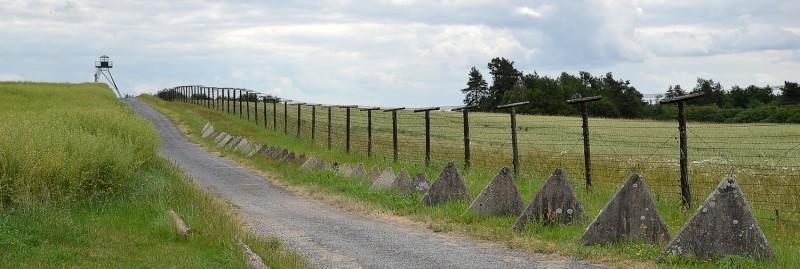 חלק ממסך הברזל בגבול מזרח גרמניה. צילום: מרסין צאלה