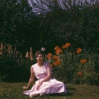 נשים ופרחים