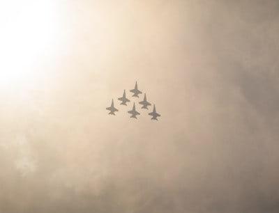 מטוסים, מטס