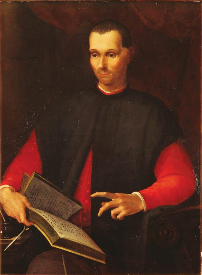 ניקולו מקיאוולי, מאת הצייר רוסו פיורנטינו מהמאה ה-16.