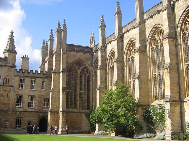 ניו קולג׳, אוקספורד. צילום: דיוויד אובל