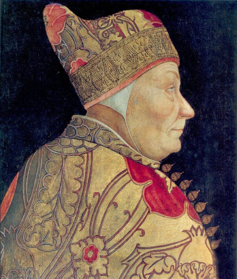 פרנסיסקו לזאריו, הדוג׳ה (דוכס) של ונציה במאה ה-15. ציור: לזאריו בסטיאני