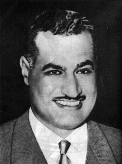 נשיא מצרים בעת מלחמת ששת הימים, גמאל עבד אל־נאצר