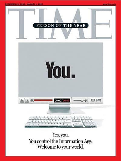 שער המגזין טיים בשנת 2006.