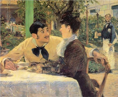 Chez le père Lathuille, אדואר מאנה, 1879.