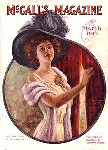 שער מגזין הנשים McCall's מ-1911