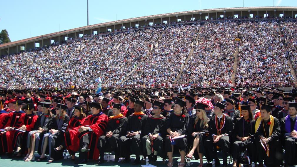 טקס חלוקת תארים באוניברסיטת קורנל שבאיתקה, ארה״ב, 2008. צילום: Eustress