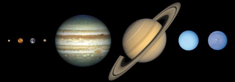 הפלאנטות במערכת השמש, באדיבות נאס״א