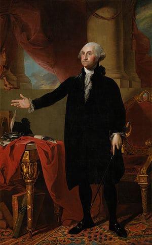 ג׳ורג׳ וושינגטון, מאת גילברט סטוארט.