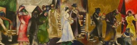מארק שאגאל חתונה יהודית