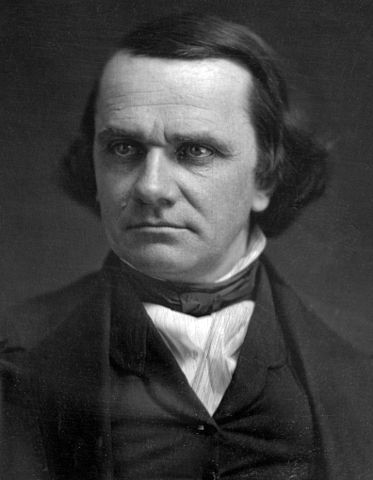 סטיבן דאגלס, יריבו הפוליטי של לינקולן. צילום: ספריית הקונגרס