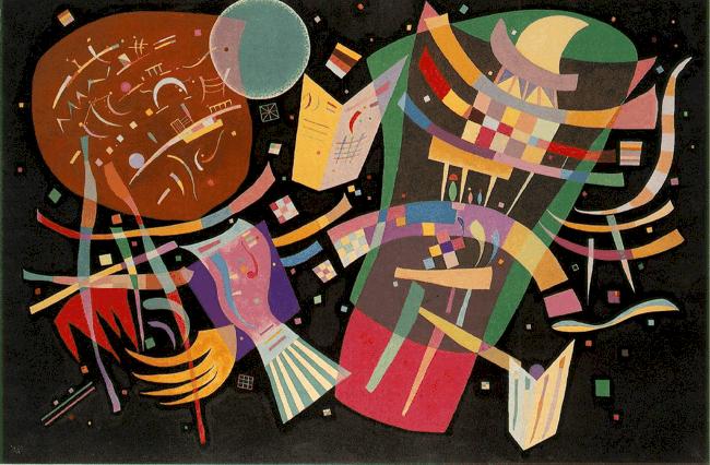קומפוזיציה X, 1939, וסילי קנדינסקי