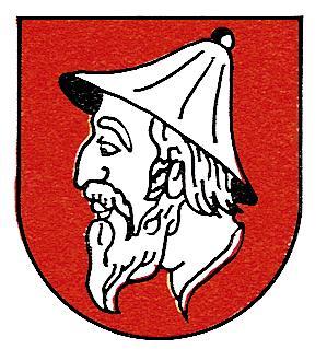 שלט גיבורים של העיר יודנבורג באוסטריה. שם העיר ״טירת היהודים״ ניתן לה בגלל הסוחרים היהודיים הרבים שחיו בה בסביבות המאה ה-11.