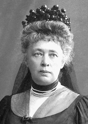 ברטה פון סאטנר ב-1906.