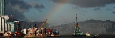 קונטיינרים בנמל