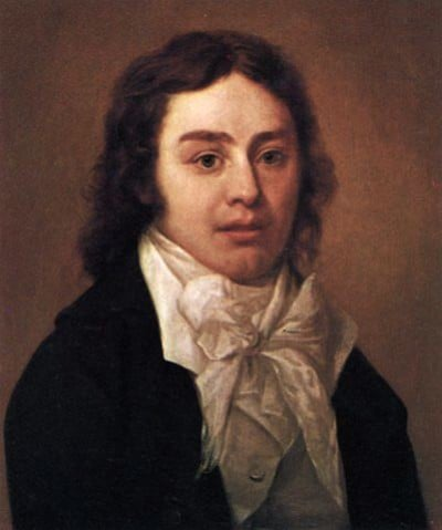 פורטרט של המשורר סמואל טיילור קולרידג' בן 23, 1795