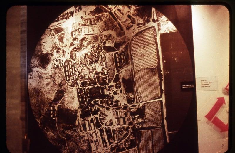 צילום אווירי של צפון ישראל ב-1973. באדיבות סקוט אשכנז