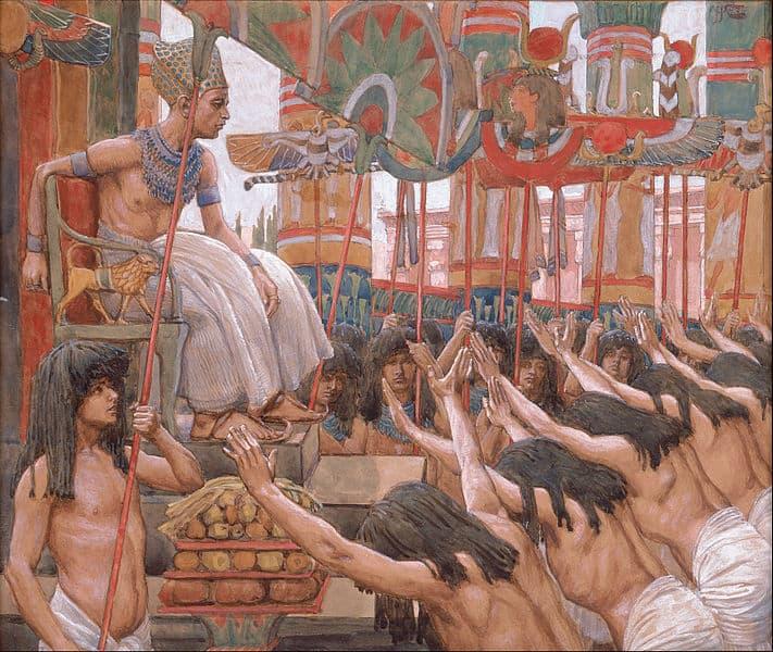 ״וגר יוסף במצרים״ מאת ג'יימס טיסו.