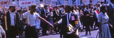 צעדה הפגנה שחורים