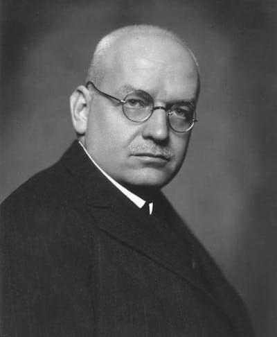 הנס לות׳ר, מנהל הבנק של גרמניה בין 1933-1930. צילום: הארכיון הפדרלי של גרמניה