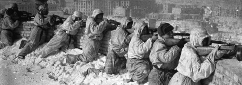 חיילים בשלג
