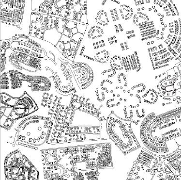 UrBurb City עיבוד: גילי מרין. מתוך ספר התערוכה.