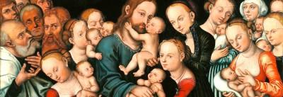 ישו וילדים והורים