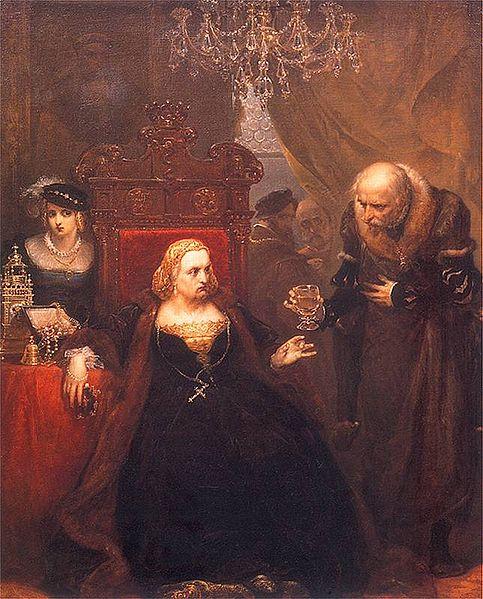 ״הרעלת המלכה בונה״ מאת יאן מטייקו.