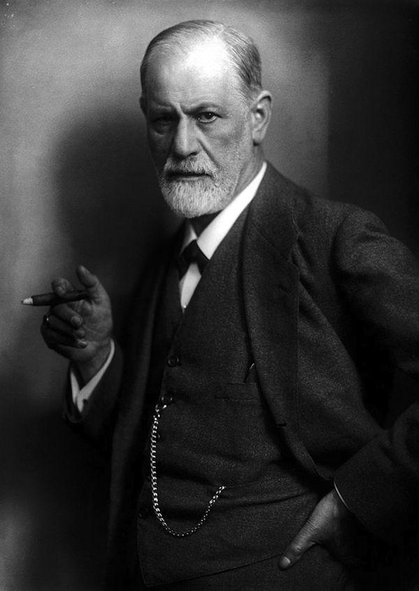 פרויד ב-1922. צילום של מגזין LIFE.