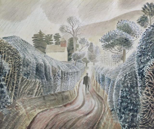 אחר צהריים גשום, מאת אריק רביליוס, 1928