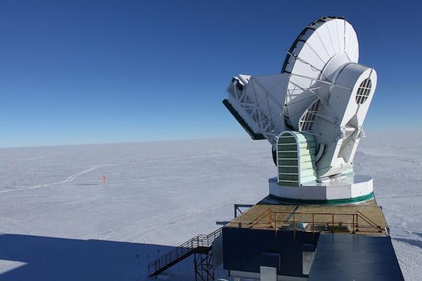 הטלסקופ בקוטב הדרומי. צילום: אלי דיוק