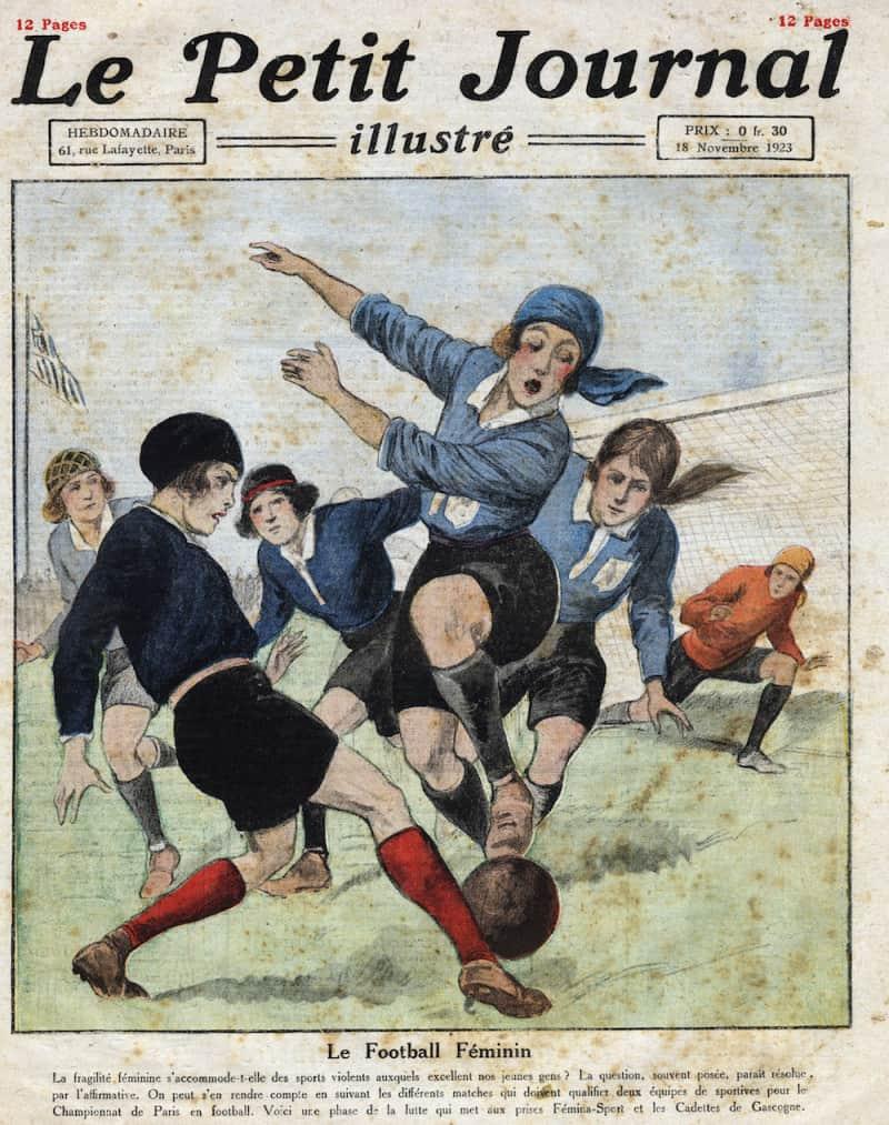 שער של כתב העת ״לה פטיט ז׳ורנל״ מ-1923. צילום: לי אימג׳ס