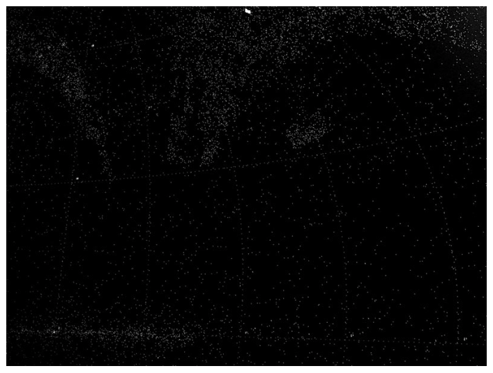 מפה שמתעדת את מיקומם של 27 אלף כוכבים מתים