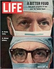 שער המגזין Time ב-1970 המתייחס למריבה בין קולי ודבייקי.