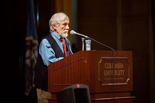 גארי סניידר באוניברסיטת קולומביה, 2007. צילום: פט