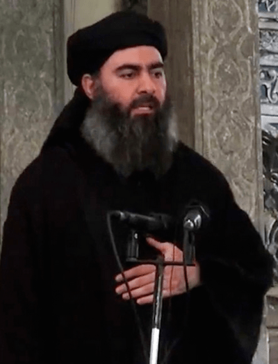 """מנהיג דאע""""ש, אבו בכר אל-בגדאדי"""