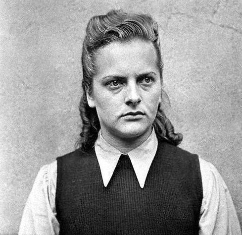 אירמה גרזה, שהיתה שומרת במחנה ראוונסבריק