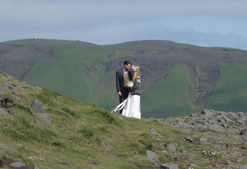 חתונה באיסלנד. צילום: דפני