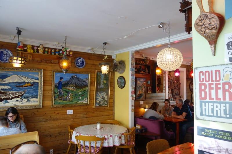 מסעדה בריקייאווק. צילום: דפני