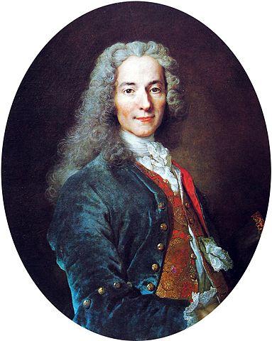 וולטר, 1725-1724